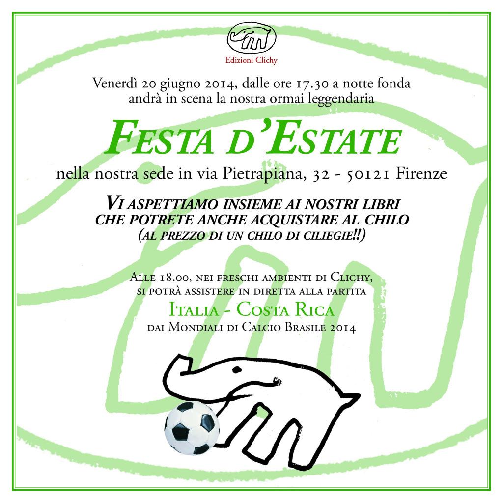 Festa del 20 giugno - La Festa d'Estate di Edizioni Clichy