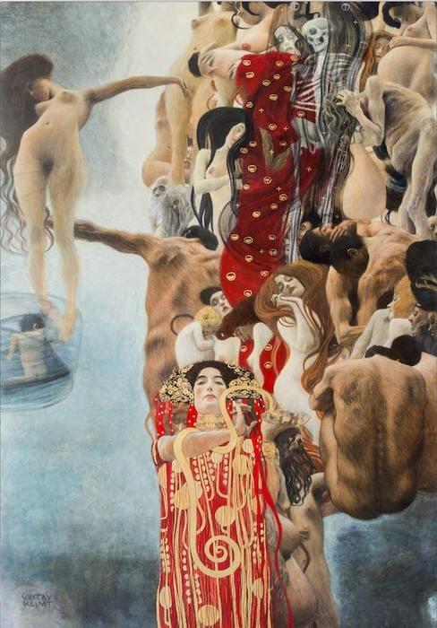 Gustav Klimt Medicina https://it.wikipedia.org/wiki/Quadri_delle_facolt%C3%A0
